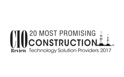WeatherBuild Named 20 Most Promising Construction Technology 2017
